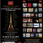 Exposition à l'International Art Gallery